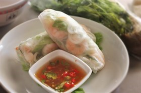 Vietnamese Spring Roll Recipe 越南米卷食谱
