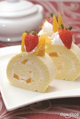 Pumpkin Cheese Roll Recipe 南瓜乳酪卷食谱