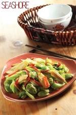 Thai Style Vegetarian Stir-fried Stink Beans Recipe   泰式素臭豆食谱