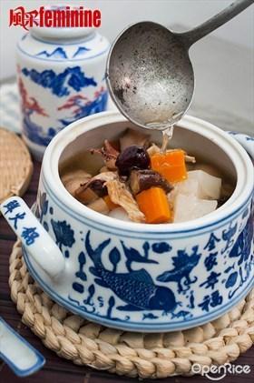 Radish Soup Recipe 鸳鸯萝卜汤食谱