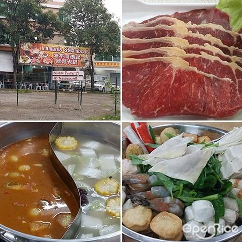 Iramanis Seafood, Steamboat, Buffet, BBQ, Jalan Lintas, Iramanis Business Centre, Kota Kinabalu, Sabah