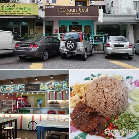 Moobaan Thai, Thai Food, Thai Fried Rice, Taman Bukit Desa, Seputeh, KL