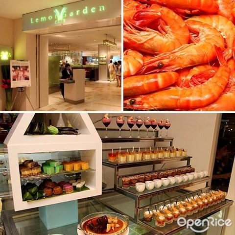 cny, buffet, lemon garden cafe, shangri-la hotel, kl