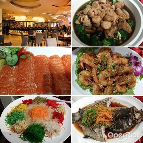 Golden Dew Bistro, Ming Garden, 鱼生, 盆菜, 2016, 新年, 团圆饭, 亚庇, 沙巴