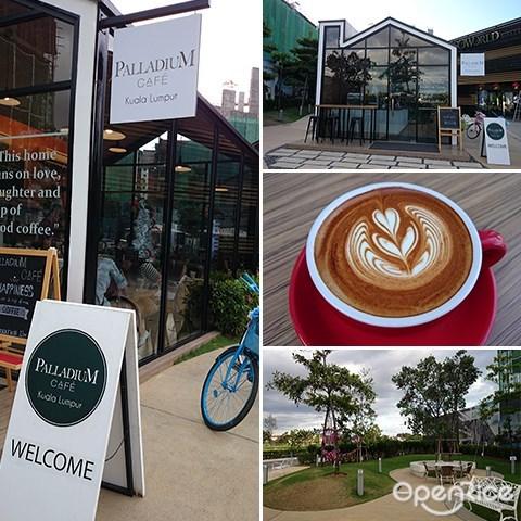 Palladium Café, coffee, cakes, ecoworld gallery, dessert, Jalan Ipoh, KL