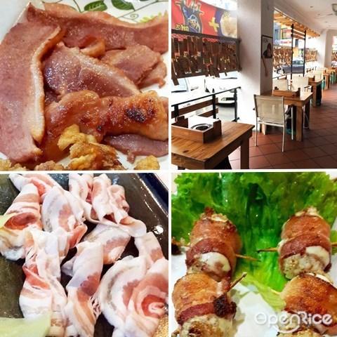 Klang Valley, Kuchai Lama, 烤肉, 炸鸡, 猪肉, 蜜糖猪肉, 培根饭, 香辣五花肉