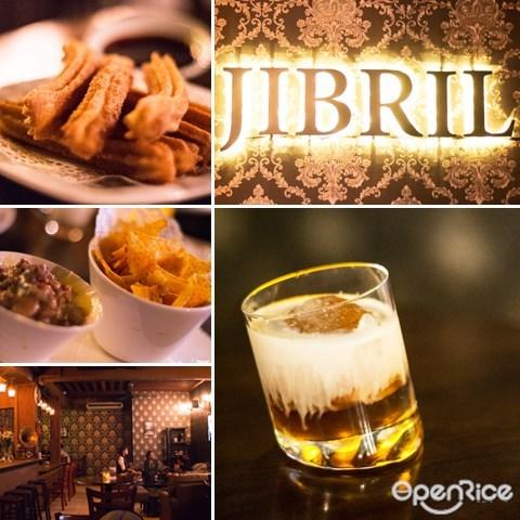 jibril's lounge, ss15, subang jaya, kl, cafe, mocktails, potter, non alcoholic drinks