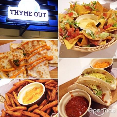 mexican food, thyme out, cafe, restaurant, tacos, nachos, burritos, salsa sauce, ss15, subang jaya, kl, klang valley