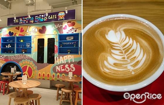 The Hippie Bus Café, Coffee, Cendol Cake, Da:Men USJ
