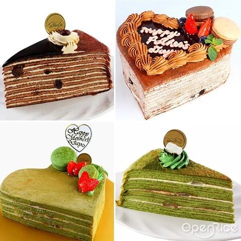 nadeje,parents'day,双亲节,千层蛋糕