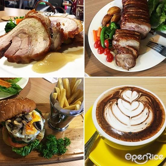 Wayne's Café, macaron, cakes, sri petaling, kl