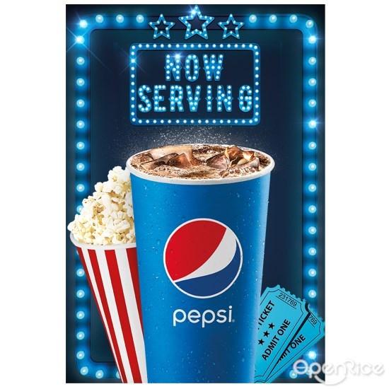 Pepsi, pizza, food with soft drinks, kl, pj