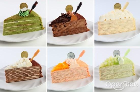 nadeje, premium series, klang valley, kl, pj, 千层蛋糕, mille crepe