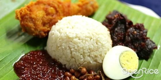 国民美食,椰浆饭,早餐,马来餐