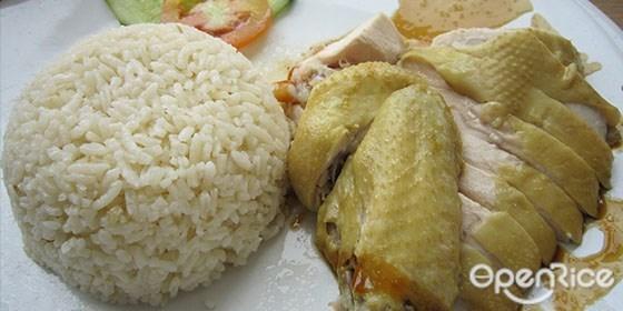 国民美食,鸡饭,海南鸡饭,烧鸡