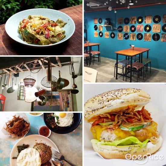 怀旧, 咖啡馆, 餐厅, 雪隆, klang valley, kl, pj, cafe