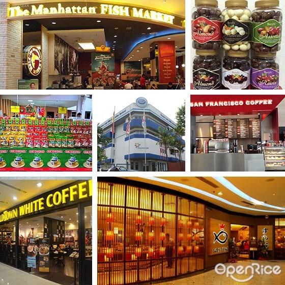 马来西亚,本地品牌,the mahattan fish market,1901 hot dog,sushi king,beryl's chocolate,vouchelle,munchy's,dutch lady milk,old town white coffee,益昌咖啡,San Francisco Coffee