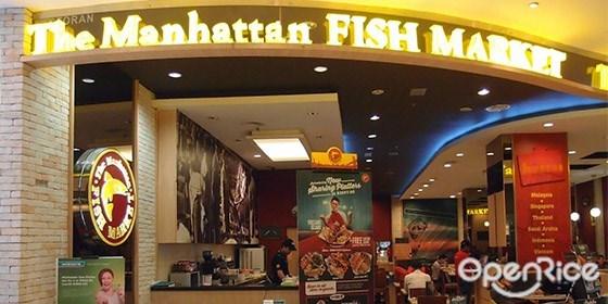 Manhattan,西式海鲜,鱼,纽西兰生蚝,鳕鱼