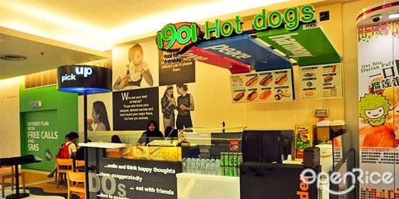 1901 Hot Dog,热狗,快餐,New York Chicken,Chicago Beef