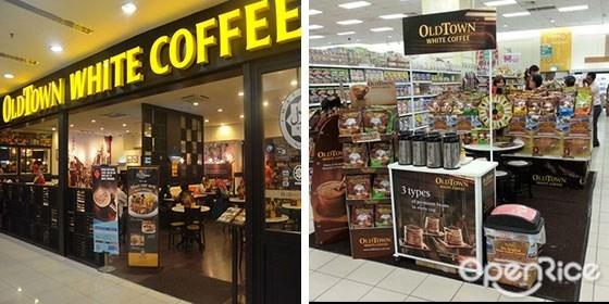 Old Town White Coffee,白咖啡,椰浆饭,叻沙,加央,奶油面包,怡保