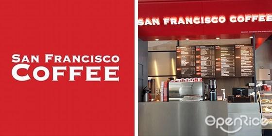 San Francisco Coffee,早餐,咖啡热饮,冰沙饮料,沙拉,汤,意大利面