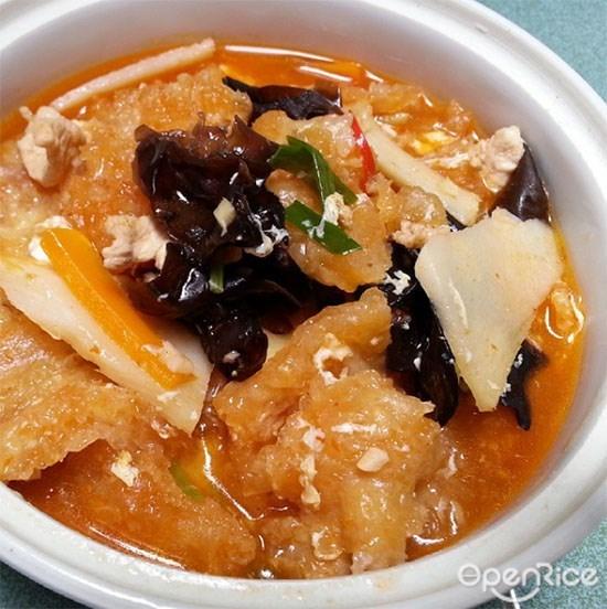 福州酸辣鱼鳔汤
