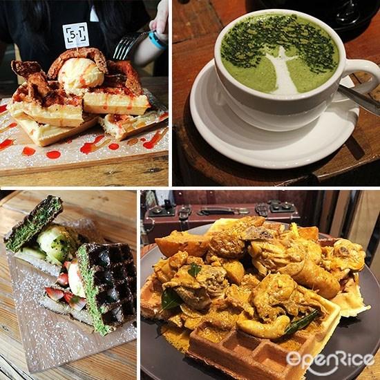 5.1 cafe gallery, sri petaling, kl