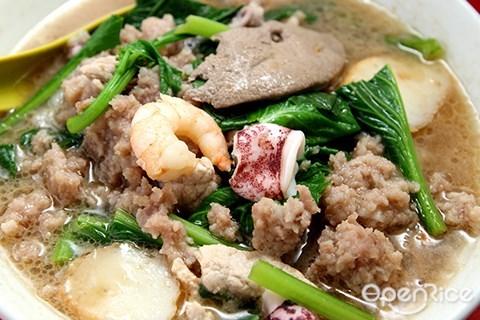 Sun Sea Pork Noodle, OUG, pork noodle