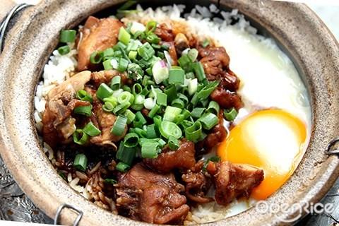 忠记, 瓦煲鸡饭, 金宝, damansara jaya, pj