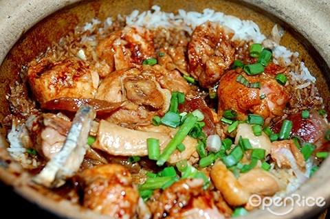 鸿记, 瓦煲鸡饭, 茨厂街, chinatown, kl