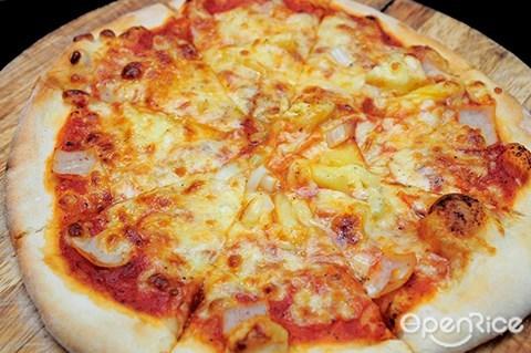 casa del cocco, taman desa, 咖啡厅, pizza