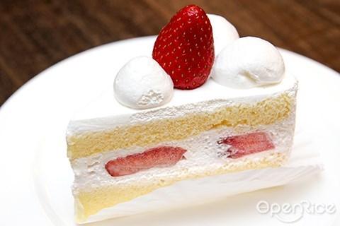 白色食物, 蛋糕