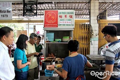 ss14, subang jaya, lim fried chicken, wong soon kee