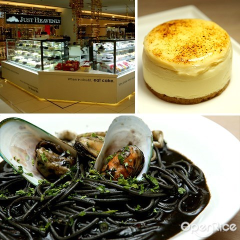 just heavenly, 蛋糕, 咖啡厅, kl, bsc, bangsar shopping centre