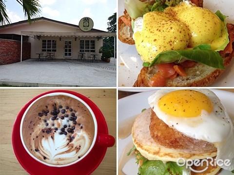 Eggs benedict, Jam & Kaya, PJ Palms Sports Center, Farmer's Pancake, PJ