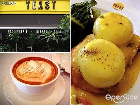 Eggs benedict, Yeast, Bangsar, KL