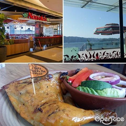 Nando's, Peri-peri Chicken, Grilled Chicken, Oceanus Mall, Sabah, Kota Kinabalu