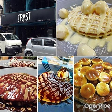 Tryst, pancakes, Subang, SS15