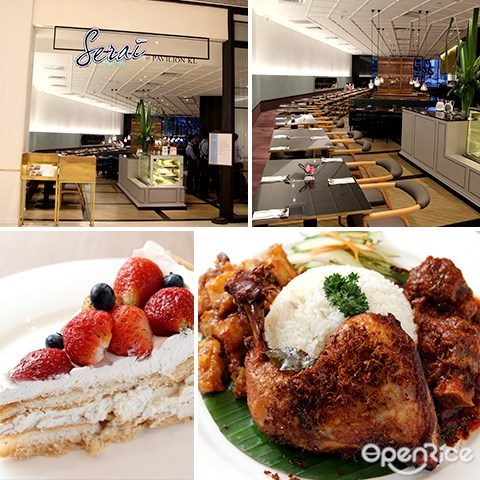 serai, pavlova, dessert, asian restaurant, western cuisine, pavilion kl, dining loft, 7th floor