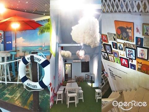 Themed Cafe, Penang, 主题咖啡馆, 槟城