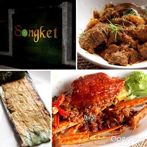 songket, jalan yap kwan seng, 马来餐厅