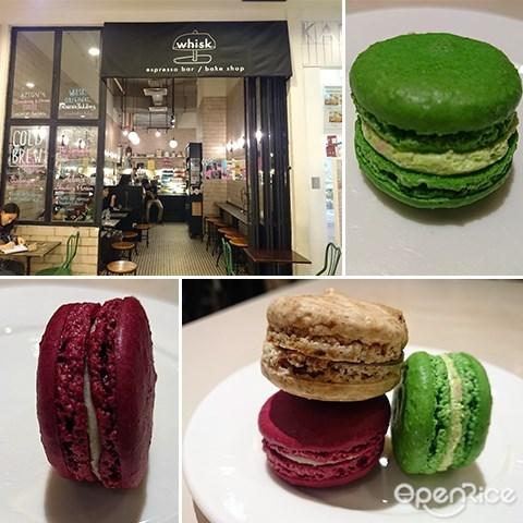 Whisk, Cafe, Empire Subang, Coffee, Cakes, 马卡龙, Subang