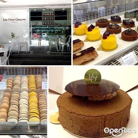 Les Deux Garcons Patisserie, Bangsar, 马卡龙, Cakes, KL