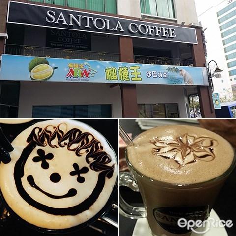 Santola Coffee Bar, 沙巴, 亞庇,咖啡, 蛋糕, 甜品