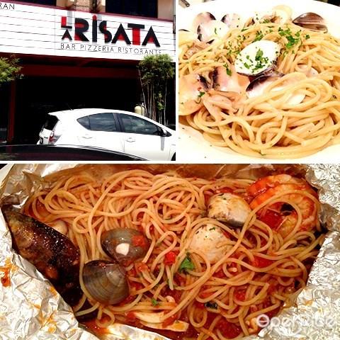 la risata, spaghetti, italian food, bukit damansara, damansara heights, kl