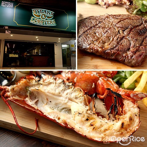 steaks & lobsters, sri hartamas, kl