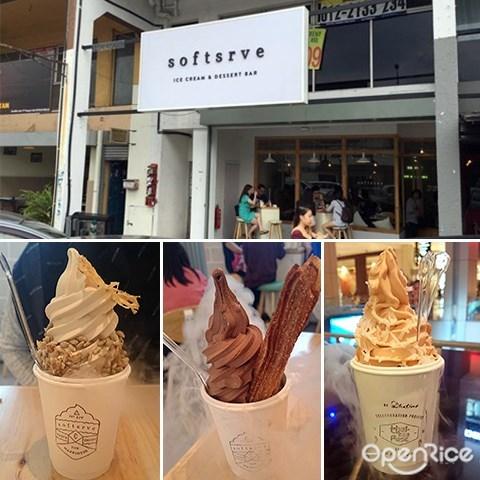 Softsrve, Soft serve, Ice cream, Damansara Uptown, Damansara Utama
