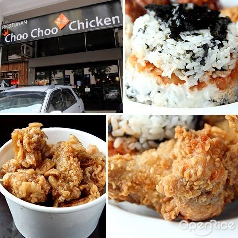 韩国, 炸鸡, choo choo chicken, korean, setapak, jalan genting klang, pv128