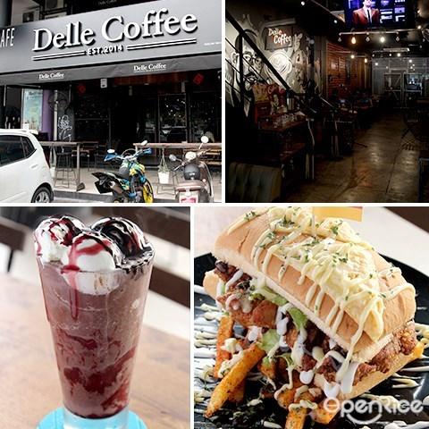 咖啡, delle coffee, cafe, frappe, setapak, jalan genting klang, pv128