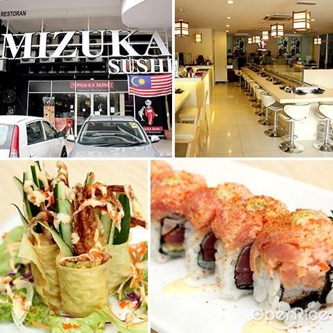 日本餐厅, 寿司卷, mizuka sushi, sashimi, maki, japanese, setapak, jalan genting klang, pv128
